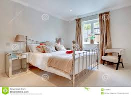 Modern Chic Bedroom by Modern Chic Bedroom Interior Stock Image Image 21439621