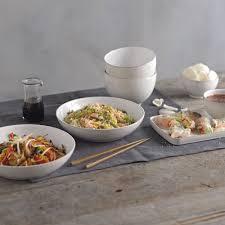 stoneware natural canvas nesting bowls set of 4