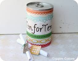 ten year wedding anniversary gift thoughtful diy gift ideas for your tin anniversary