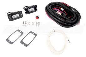 rigid industries backup light kit rigid industries srm series led hybriddiffused back up light kit