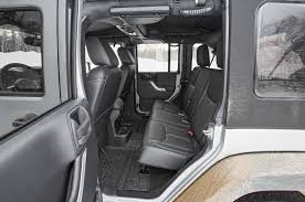 wrangler jeep 4 door interior 2016 jeep wrangler unlimited rubicon first test review