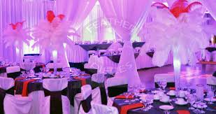 pictures for rent ostrich feather centerpieces by featherpieces
