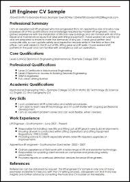 Sample Resume For Software Engineer Experienced by Curriculum Vitae Samples For Electrical Engineers