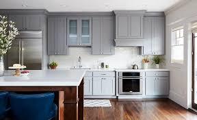 gray kitchen cabinets with white trim gray kitchen trim molding transitional kitchen