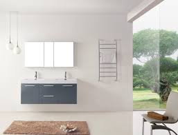 Bathroom Vanity Grey by Virtu Usa Midori 54 Double Bathroom Vanity Cabinet Set In Grey