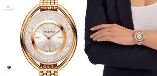 gold tone bracelet watches images 5200341 swarovski crystalline oval rose gold tone bracelet watch jpg