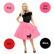 Halloween Costumes Accessories Poodle Skirt Costume Costumes Wigs Theater Makeup