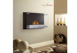 eplia wall mount bio ethanol fireplace by moda flame