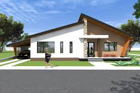 Home Design 2016 Bungalow House Design 3d Model A27 Modern Bungalows By Romanian