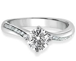 twist engagement ring pr1012 twist pave set diamond ring