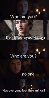 Who Are You Meme - sansa who are you jon a targaryen game of thrones memes
