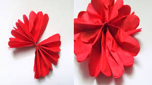 how to make flowers out of paper how to make flowers out of paper