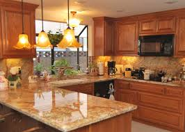 Oak Cabinets Kitchen Ideas Kitchen Kitchens With Oak Cabinets On Kitchen Inside Best 25 Honey