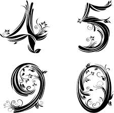 number fonts tattoo designs pictures to pin on pinterest tattooskid