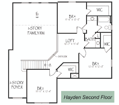 Half Bath Floor Plans Silverthorne Homes The Hayden Floor Plan Silverthorne Homes