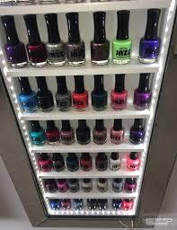 mirror frame nail polish rack space saving style beauty u0026 make up