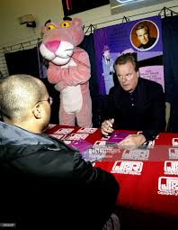 the pink panther robert wagner signs dvds in new york photos and images getty images