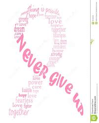 ribbon with words pink breast cancer ribbon from 37 million high