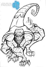 spiderman vs lizard coloring pages