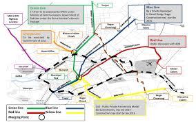 map of karachi green line brts route map karachi infrastructure development co