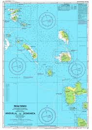 Antigua Map Leeward Islands Nautical Map Antigua U2022 Mappery