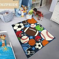 boys bedroom rugs balls print kids rugs cartoon balls boys bedroom football carpet 39