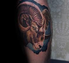 100 ram tattoo designs for men bighorn sheep ink ideas