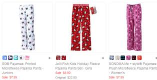 kohl s cyber monday pajama deals s pj s for 3 84 s