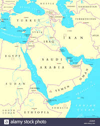 map iran iraq gulf region countries political map iran iraq kuwait and