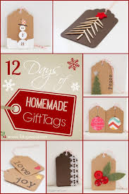 days gift 12 days of diy christmas gift tags one dog woof