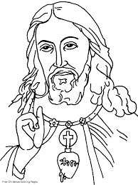 christian preschool coloring pages jesus coloring