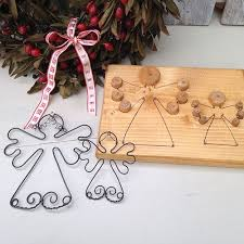 Christmas Angel Decorations Pinterest by 7 Best Wire Angels Images On Pinterest Angel Crafts Angel