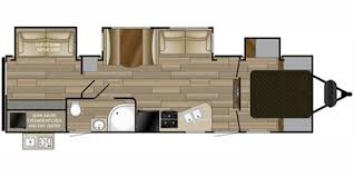 2017 cruiser rv fun finder signature series m 316 bhws floorplan