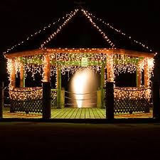 set of 2 14 ft icicle stringers 300 mini lights clear