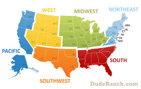 northeastern cus map region northeast info pics maps more dude ranch com