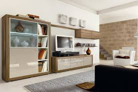 Home Office With Sofa Small Space For Home Office With Simple Desk And Bokshelves Also