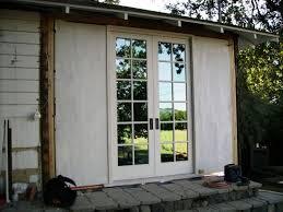 Exterior Pocket Door Exterior Pocket Doors With Glass Miketechguy