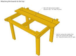 patio table plans wooden with umbrella hole tables and benches