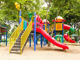 image result for kids playground abandoned playground