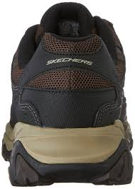 skechers sandals skechers sport men u0027s afterburn memory foam lace