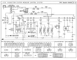 mazda b2600i ignition wiring schematic mazda schematics and