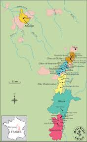 Dijon France Map by Cote Chalonnaise U2013 Rosenthal Wine Merchant