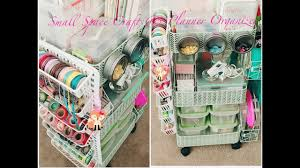 craft organizer rolling cart hacks using a dupe ikea raskog cart