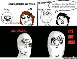 Ok Face Meme - no its not ok by burningblackflowers meme center
