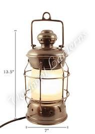 electric lanterns nautical lanterns antique brass nelson 13 5