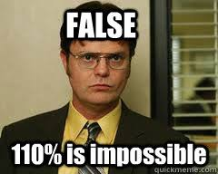 Impossible Meme - false 110 is impossible misc quickmeme