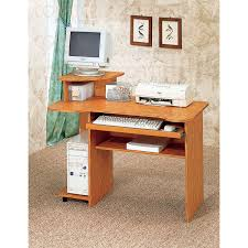 Metro Studio Solid Wood Computer Desk In Honey Pine 99042 by Amazing Brilliant Small Home Computer Desk Bestar Basic Wood In
