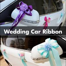 wedding car decorations qoo10 wedding car ribbon furniture deco