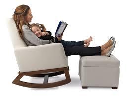 modern storage ottoman nursery furniture by monte design