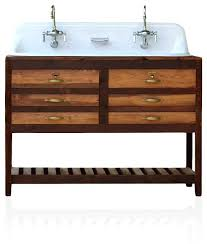 Bathroom Trough Sink Vanities Double Faucet Trough Sink Vanity Trough Sink Vanity